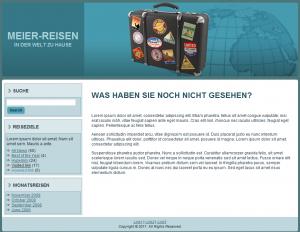 Webdesign Reisebüro