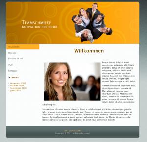 Webdesign Teamschmiede
